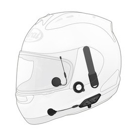 SENA 10U for Arai Full-face helmet (WITH Handlebar Remote)