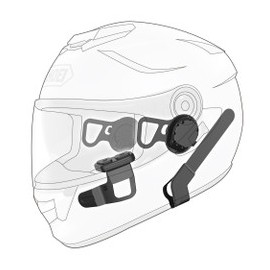 SENA 10U for Shoei GT-Air (WITH Handlebar Remote)